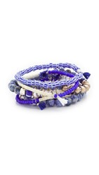 Lacey Ryan Mykonos Bracelet Set Blue Multi