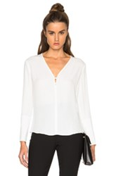 A.L.C. Charlie Top In White
