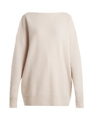 Tomas Maier Ribbed Cashmere Sweater Ivory