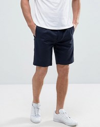 Bellfield Tailored Shorts In Jacquard Navy