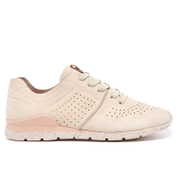 Ugg Women's Tye Treadlite Nubuck Trainers Ceramic Cream