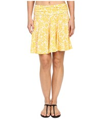 Michael Michael Kors Chilitington Skirted Cover Up Sunflower Women's Swimwear Yellow