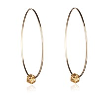 Rachel Entwistle Icosa Hoops Gold