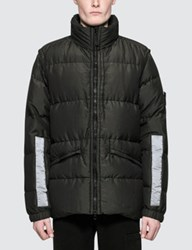 Stone Island Cotton Metal Watro Down Jacket