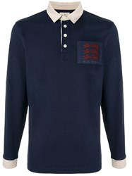 Kent And Curwen Three Lions Rugby Shirt 60
