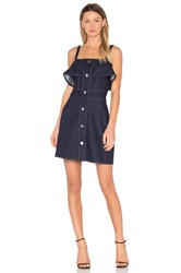 See By Chloe Denim Mini Dress Indigo