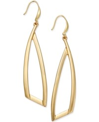 Inc International Concepts Gold Tone Triangle Drop Earrings Only At Macy's
