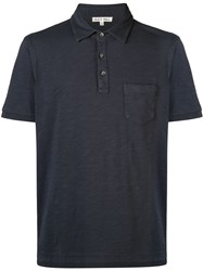 Alex Mill Rugby Polo Shirt Blue
