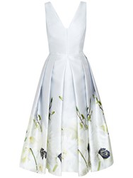Ted Baker Pearly Petals Ballerina Dress Ash