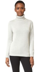 525 America Turtleneck Sweater Heather Grey