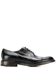 Silvano Sassetti Classic Oxford Shoes Black