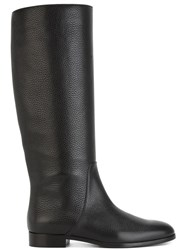 Sergio Rossi Mid Calf Length Boots Black