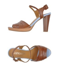 Jancovek Sandals Brown