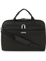Briggs And Riley Transcend Clamshell Briefcase Rainforest