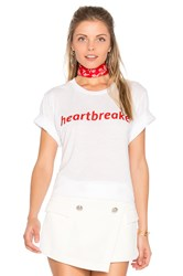 Private Party Heartbreaker Tee White