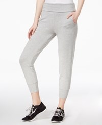 Tommy Hilfiger Sport Cropped Jogger Pants A Macy's Exclusive Dove Heather