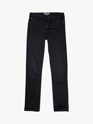 Fat Face Over Dye Bootcut Jeans Black