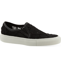 Sandro Lace Slip On Trainers Black