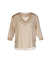 Bella Jones Shirts Blouses Women Ocher