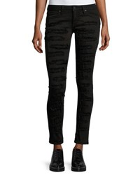 Robin's Jeans Marilyn Distressed Skinny Black