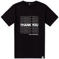 Bedwin And The Heartbreakers Declan Thank You Tee Black