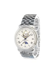 Frederique Constant 'Classics Moonphase' Analog Watch Stainless Steel