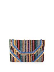 Design Lab Lord And Taylor Multi Bead Convertible Clutch