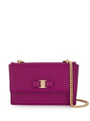 Salvatore Ferragamo Logo Plaque Cross Body Bag Pink