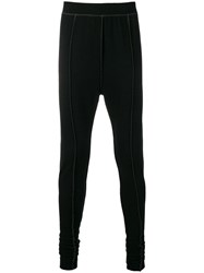 The Viridi Anne Sweatpant Leggings Black
