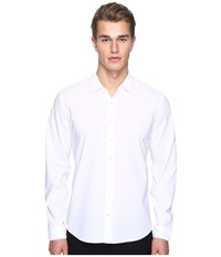Atm Anthony Thomas Melillo Classic Dress Shirt White Men's Long Sleeve Button Up