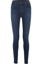 J Brand Carolina 32 High Rise Skinny Jeans Dark Denim