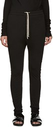 Rick Owens Black Skinny Lounge Pants