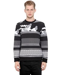 Neil Barrett Printed Neoprene Sweatshirt