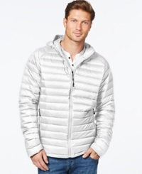 Weatherproof Packable Down Jacket White