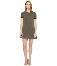 Culture Phit Demna Short Sleeve Dress Olive Women's Dress