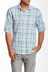 Toscano Plaid Long Sleeve Regular Fit Shirt Multi
