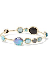 Ippolita Rock Candy Open Gelato Kiss 18 Karat Gold Multi Stone Bracelet One Size