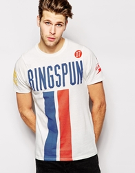 Ringspun T Shirt White