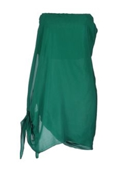 See By Chloe See By Chloe Tube Tops Green