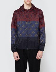 Pierre Louis Mascia Coupe Vent Jacket Red Red Multi