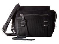 Joe's Jeans Raven Satchel Crossbody Black Cross Body Handbags