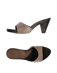 Cafe'noir Cafenoir Mules Dove Grey