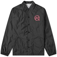 Denim By Vanquish And Fragment Icon Coach Jacket Black