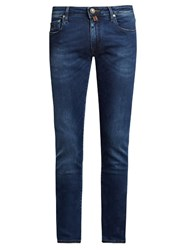 Jacob Cohen Tailored Skinny Fit Jeans Mid Blue