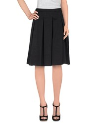 Manuel Ritz Skirts Knee Length Skirts Women Black