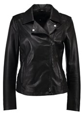 Oakwood Leather Jacket Black