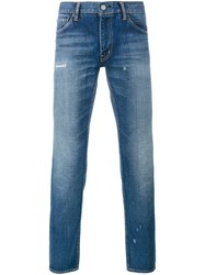 Visvim Straight Fit Jeans Blue