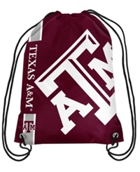 Forever Collectibles Texas A And M Aggies Big Logo Drawstring Bag