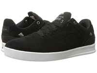 Emerica The Reynolds Low Black Silver Men's Skate Shoes