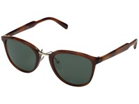Prada 0Pr 22Ss Striped Light Brown Dark Green